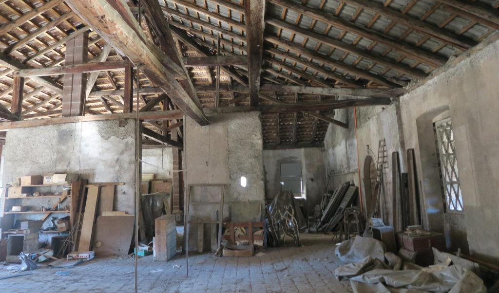 Palazzo parisi a denno trento solaio giorgia gentilini for Subito it trento arredamento